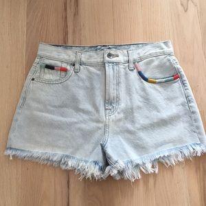 Pants - Splendid x Margherita cutoff denim shorts